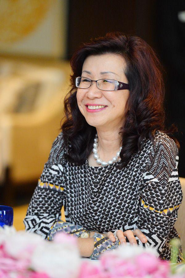 Malaysia Tatler managing director Florence Fang