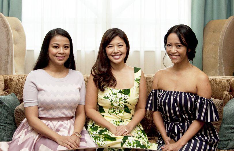 Muhaini Mahmud, Shirena Hamzah and Rozie Mastor