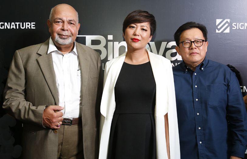 Dato' Sharifuddin Wahab, Echo Wang and Jay Yeunh