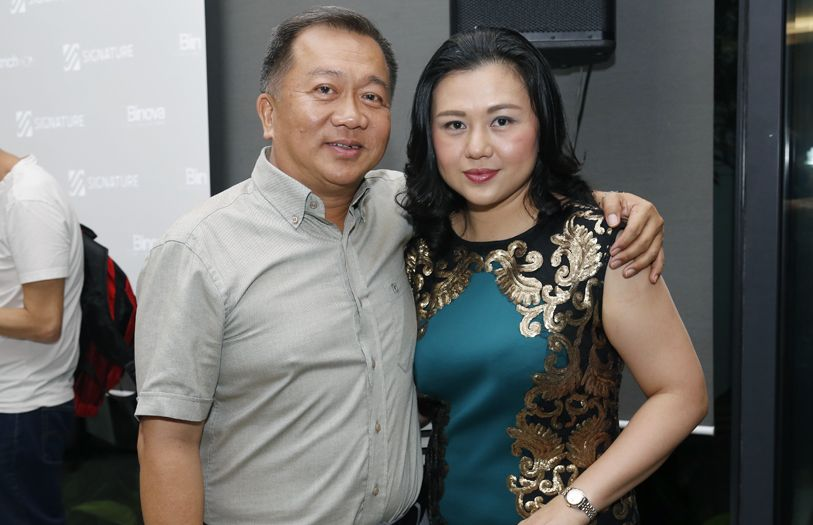 Dato' Sri Yap Keow Keong and Datin Sri Lim Lay Kheng