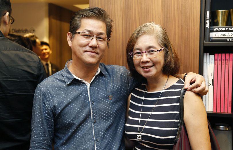 Lim Wei Heng and Chow Mei Keen
