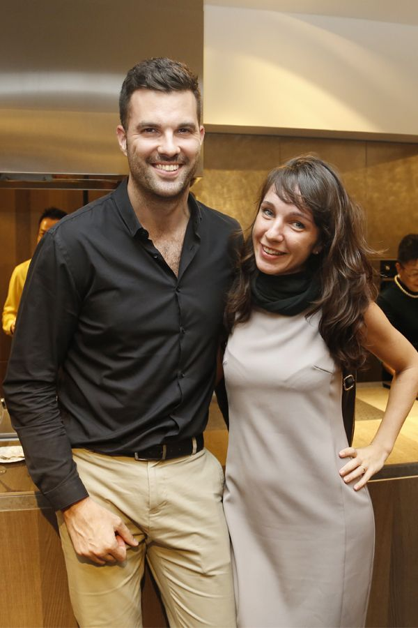 Miguel Angel and Margherita Mosanghini
