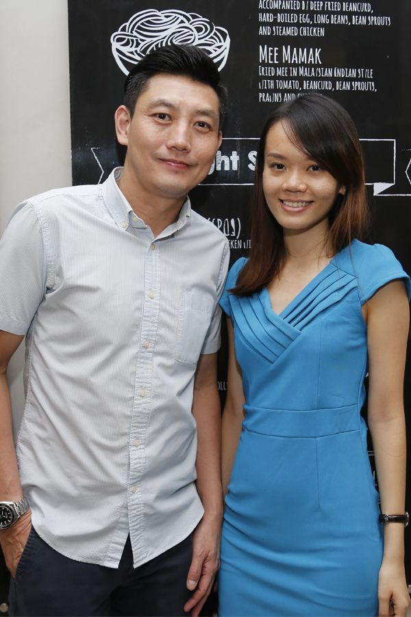 Nick Low and Stacey Ooi