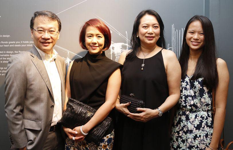 Richard Lim, Adeline Joy, Datin Christina Poon and Chooi Pai Wei