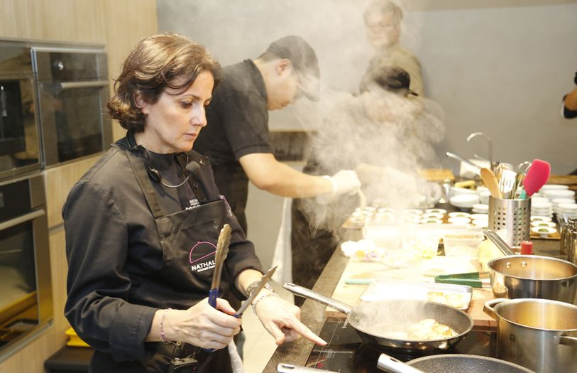 Chef Nathalie Arbefeuille