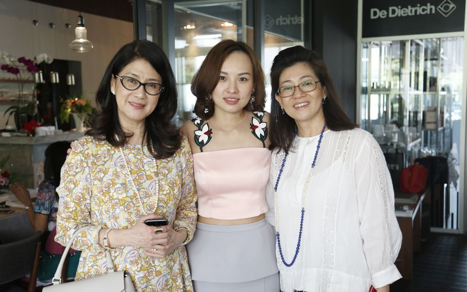 Soo Shea Pin, Mereen Teo and Puan Sri Luan Toh