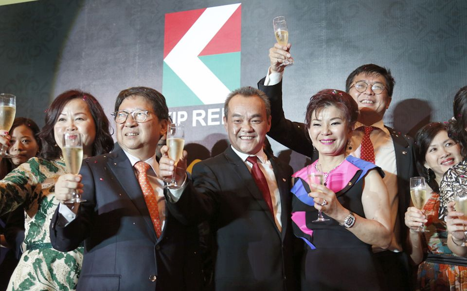 KIP Real Estate Investment Trust celebrated its successful IPO