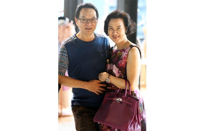 Datuk Seri Robert Tan and Datin Seri Mei Tan