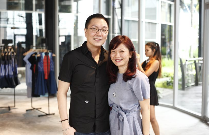 Jamie Ong and Chuah Su Ming