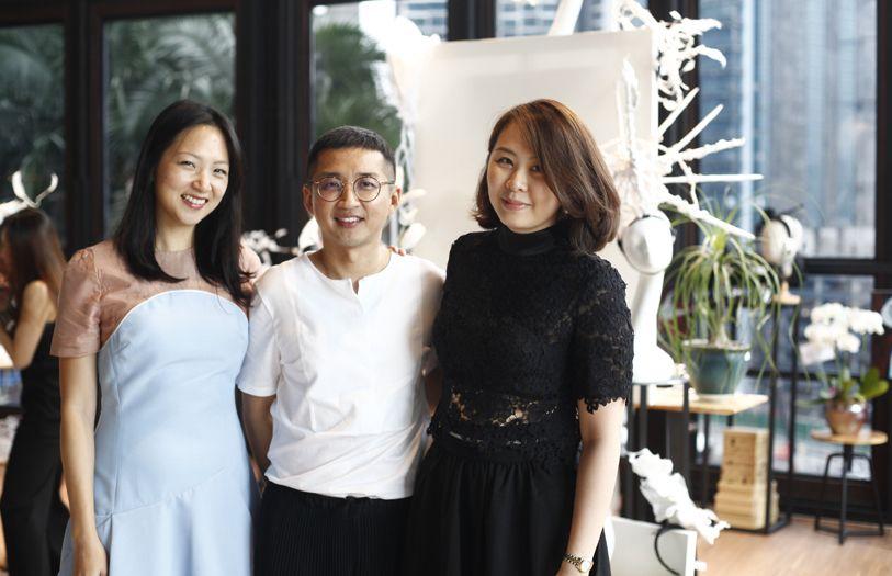 Gabrielle Tan-Helfman, Khoon Hooi and Lim Ai San