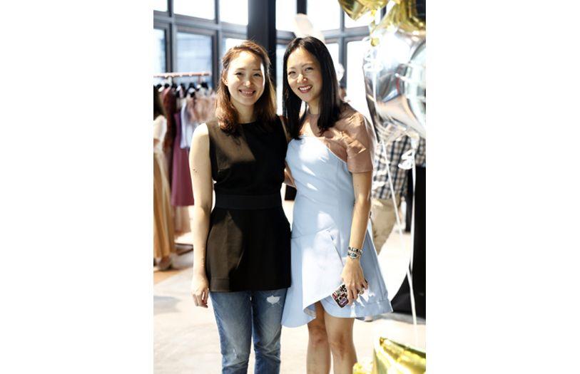 Elizabeth Tan and Gabrielle Tan-Helfman