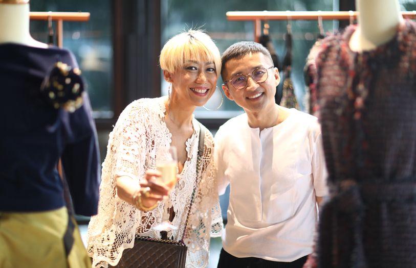 Gillian Hung and Khoon Hooi