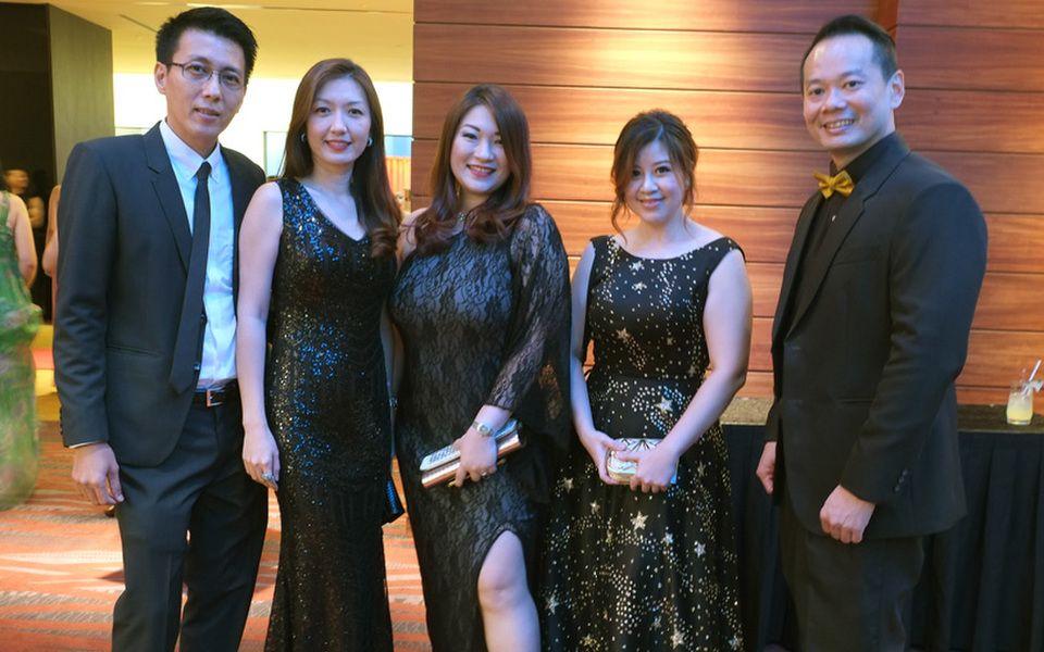 Teoh Eow Leon, Michelle Chee Mei Vin, Pamela Khoo Im Ean, Khoo Ling Tze and Chris Gan