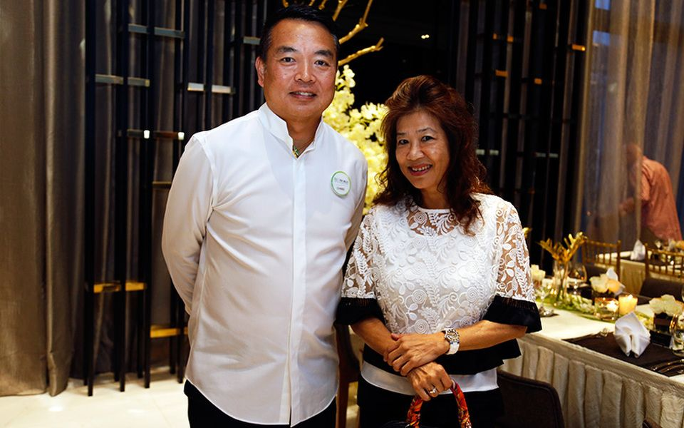 President and CEO of Eco World Dato' Chang Khim Wah and Sylvia Gan