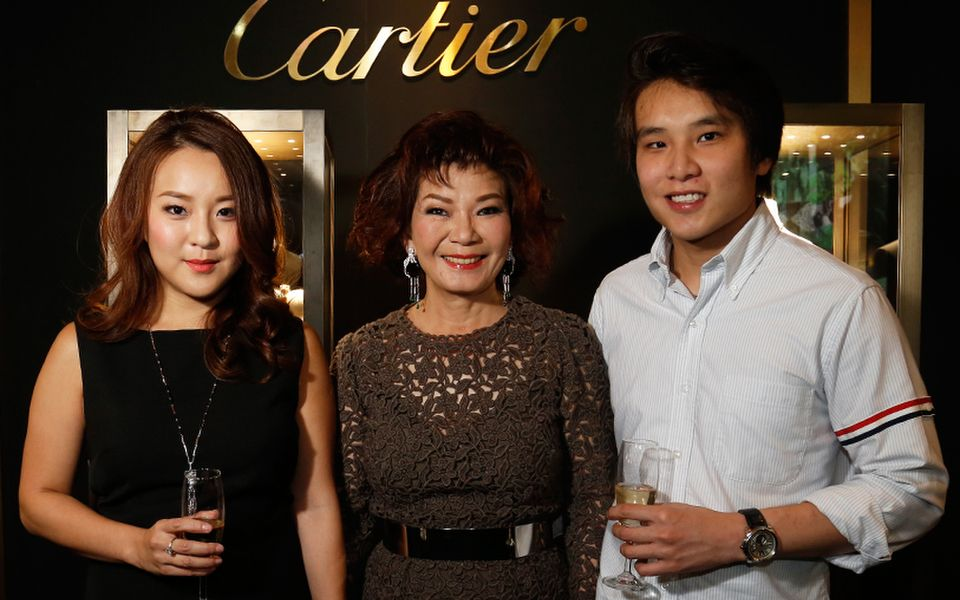 Valerie Ong, Datin Kate Ong and Daryl Ong