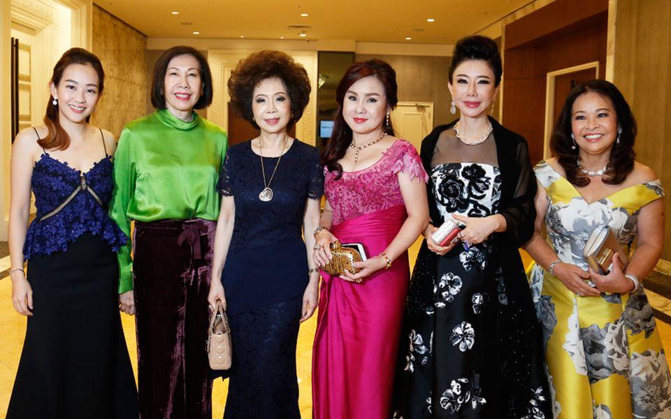 Evonne Khoo, Ngan Lee Fan, Datin Sri Barbara Yap, Datin Sharon Leaw, Dato' Jaime Chan Abdullah and Shirley Ooi-Hamilton
