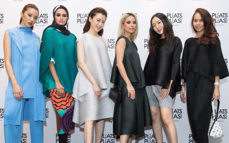 Janice Low, Ieedah Kadir, Tracy Cheong, Sarah Intan, Jojo Goh and Kim Raymond