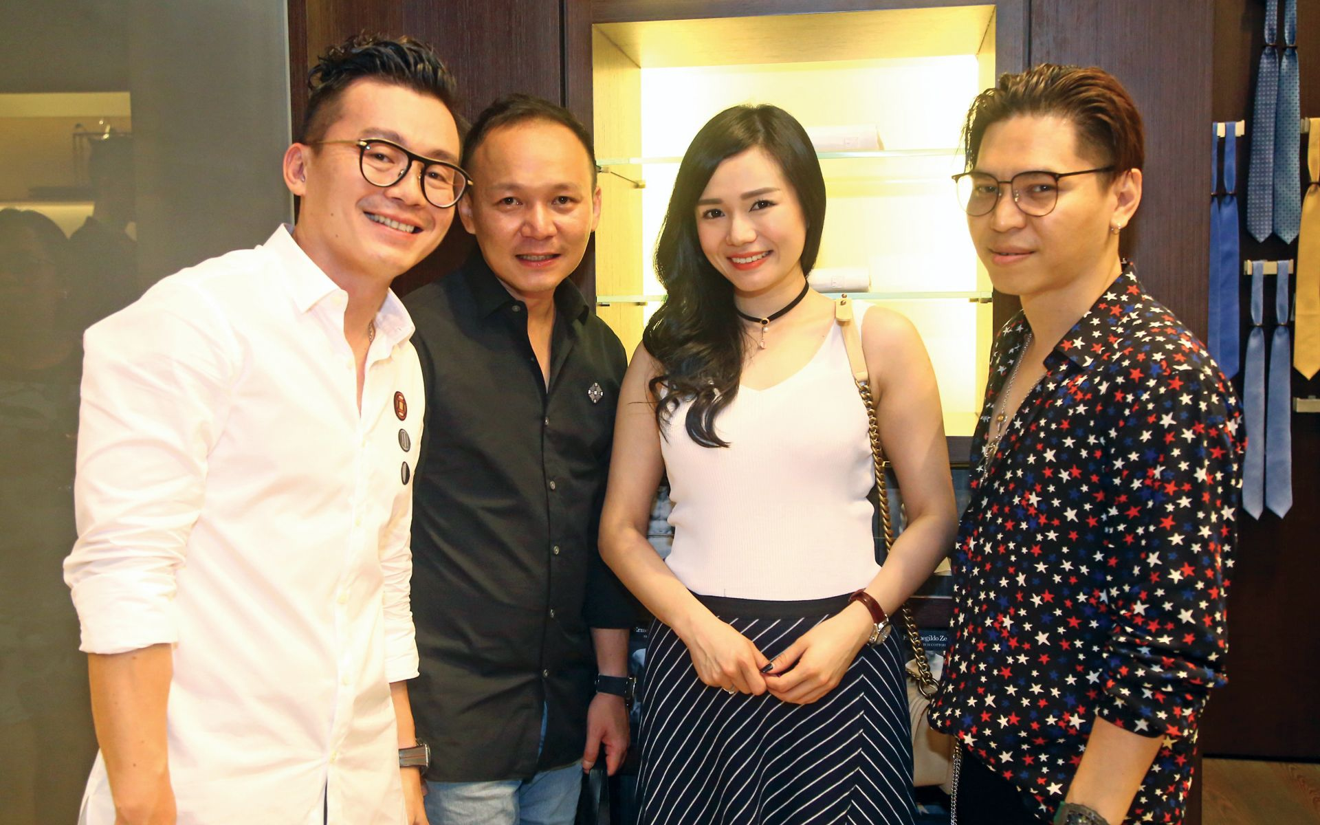 Anthony Chan, Sean Tan, Katrina Wong and Adam Thiam