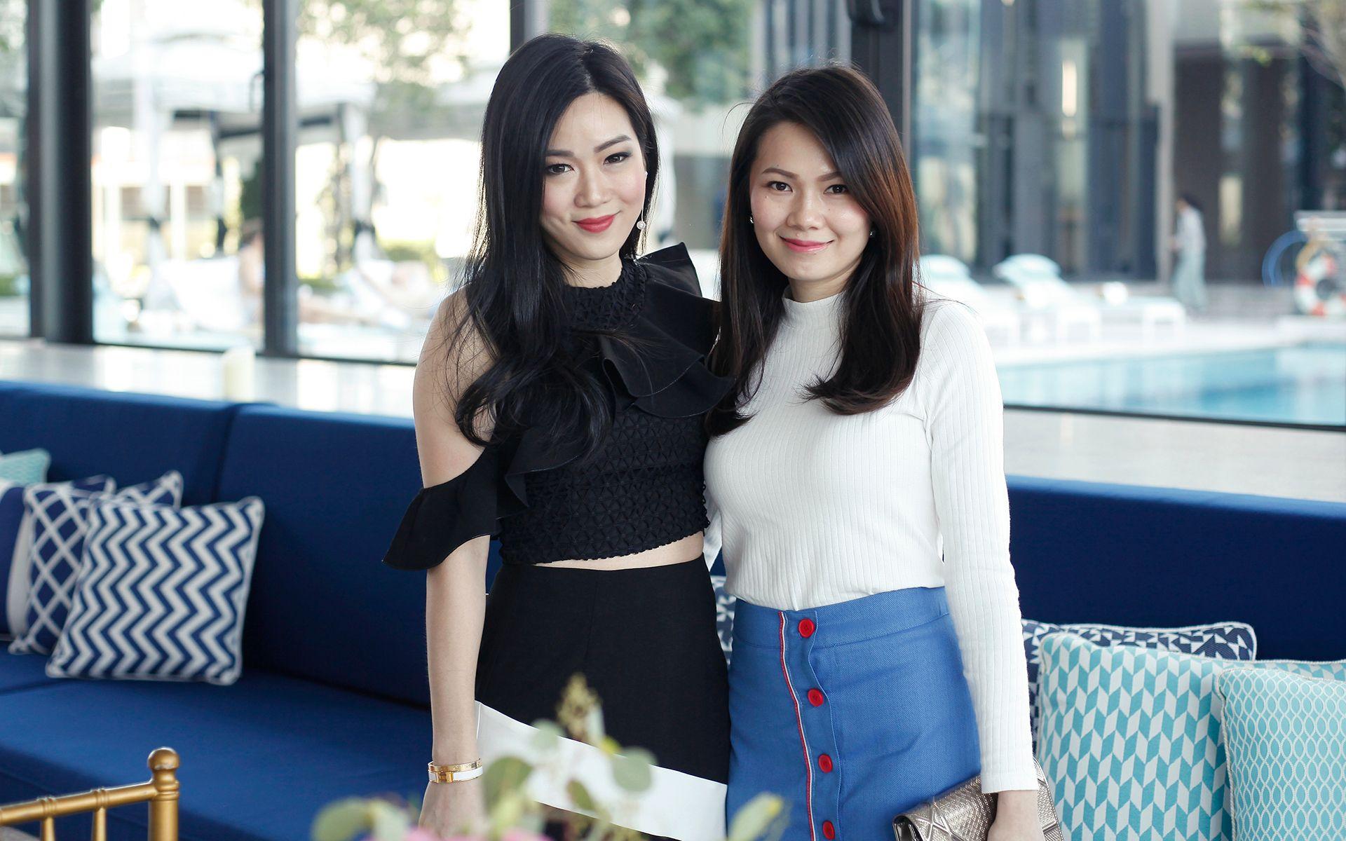 Shaine Wong and Sunny Leong