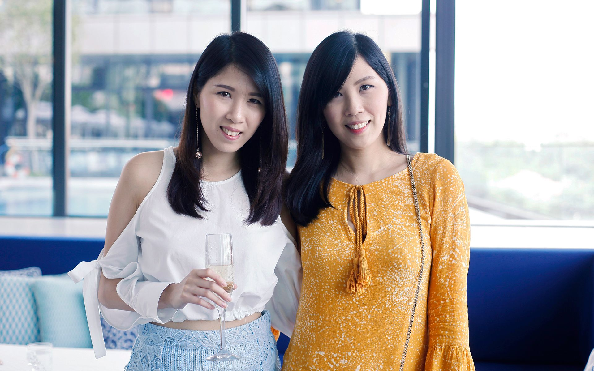 Clairyn Chong and Cherlyn Chong