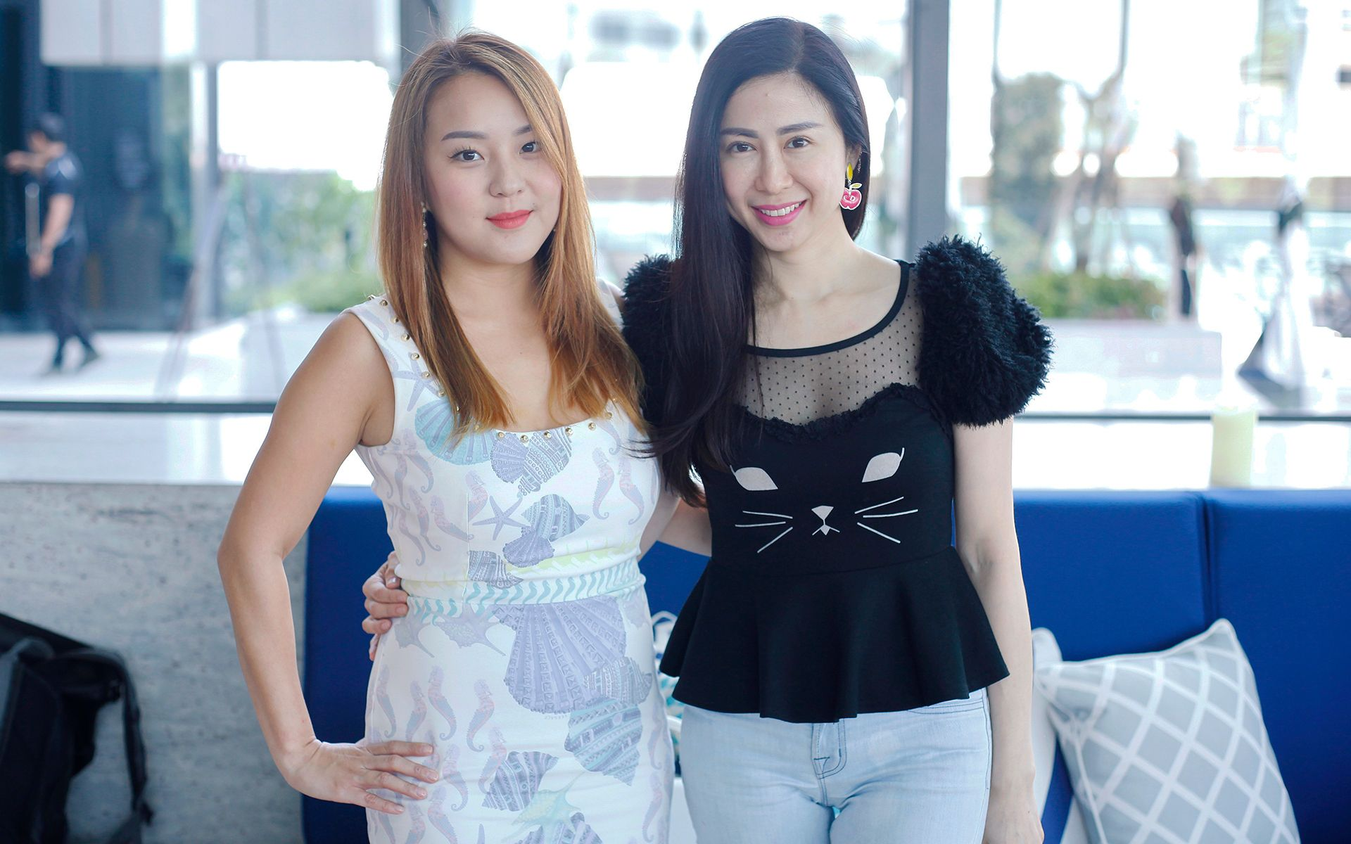 Valerie Ong and Kimisabelle Choo