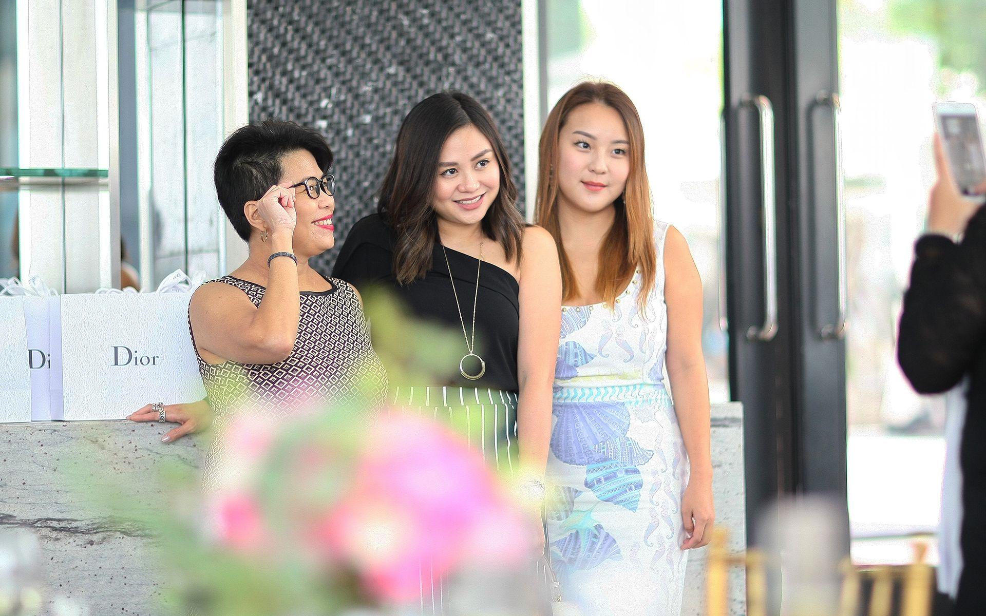 Elizabeth Soong, Jenn Low and Valerie Ong