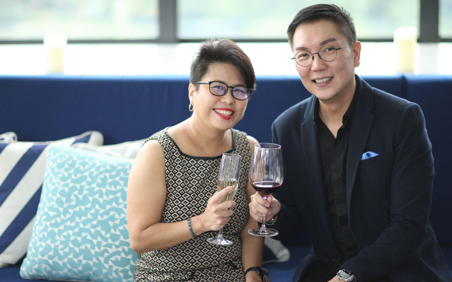 Elizabeth Soong and Jamie Ong
