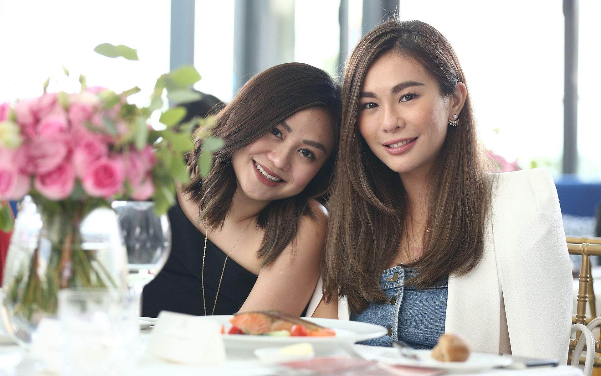 Jenn Low and Datin Dian Lee