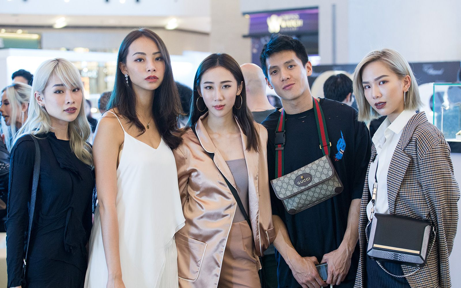 Cherrie Mun, Nana Law, Daphne Tan, Khye Fuie and Ashley Lau