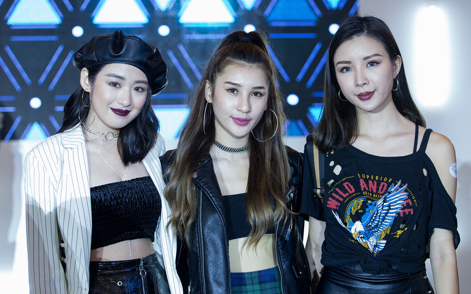 Kendra Sow, Janiss Foong and Elizabeth Wa