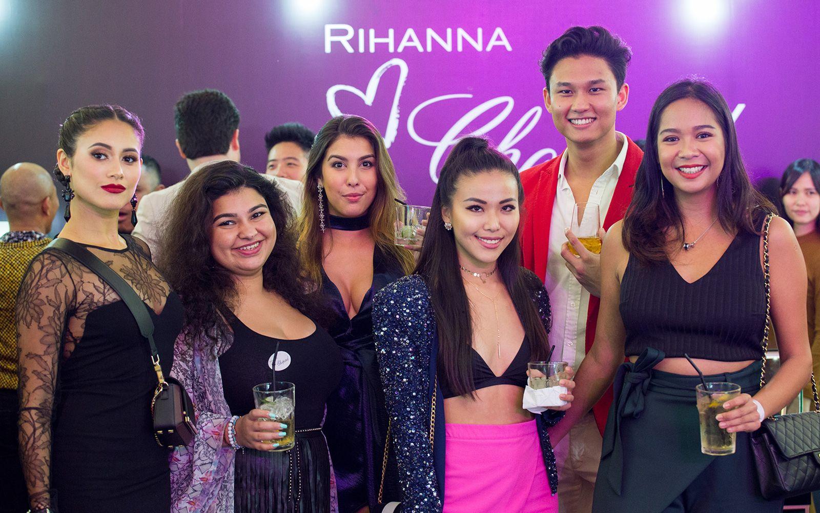 Tunku Elana Khyra, Niki Dowlani, Soraya Matthews, Melissa Yang, Matthew Shim and Eliza Khamil