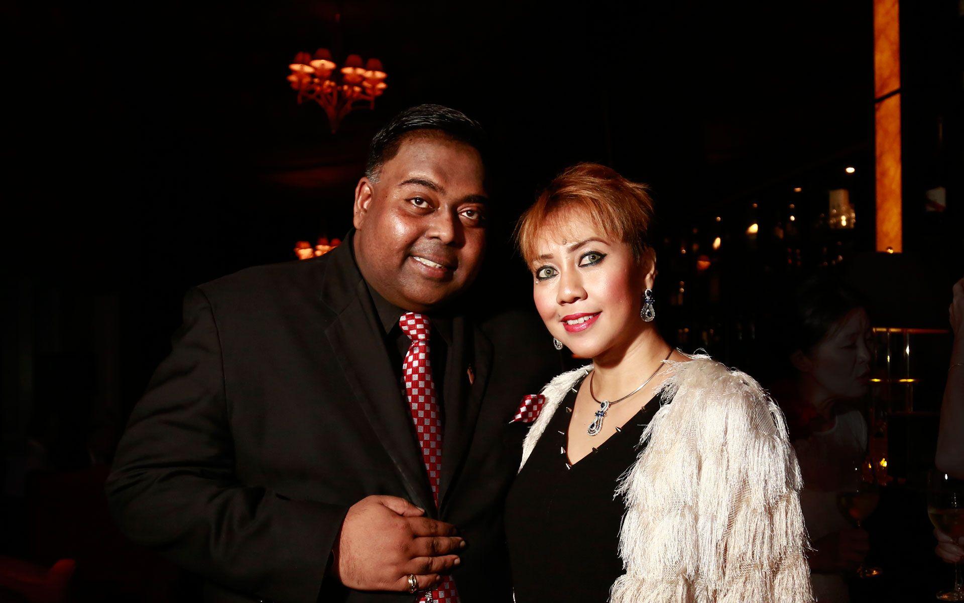 Datuk George Gerald and Ziera Mohd Noor