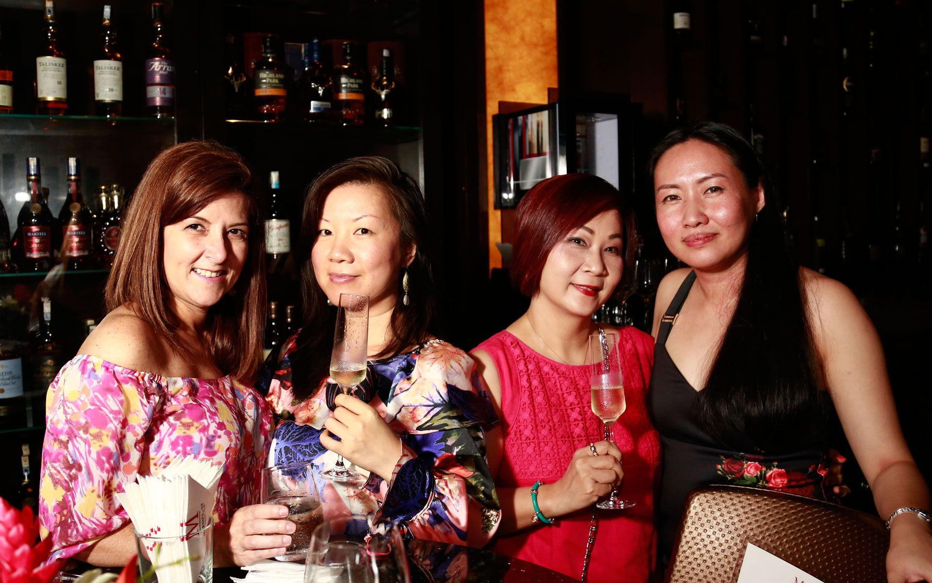 Gina Liep, Michelle Chen, Mimi Gaigher and Claire Chong