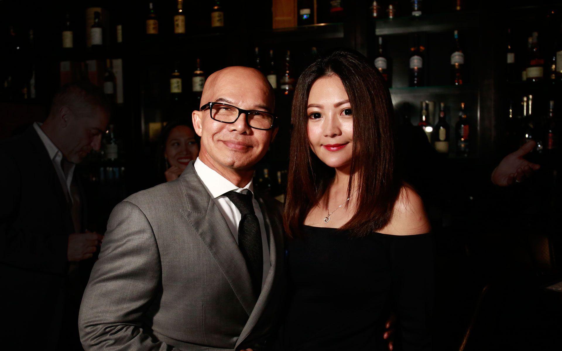 Wan Ahmad Wan Abas and Sylvia Gan