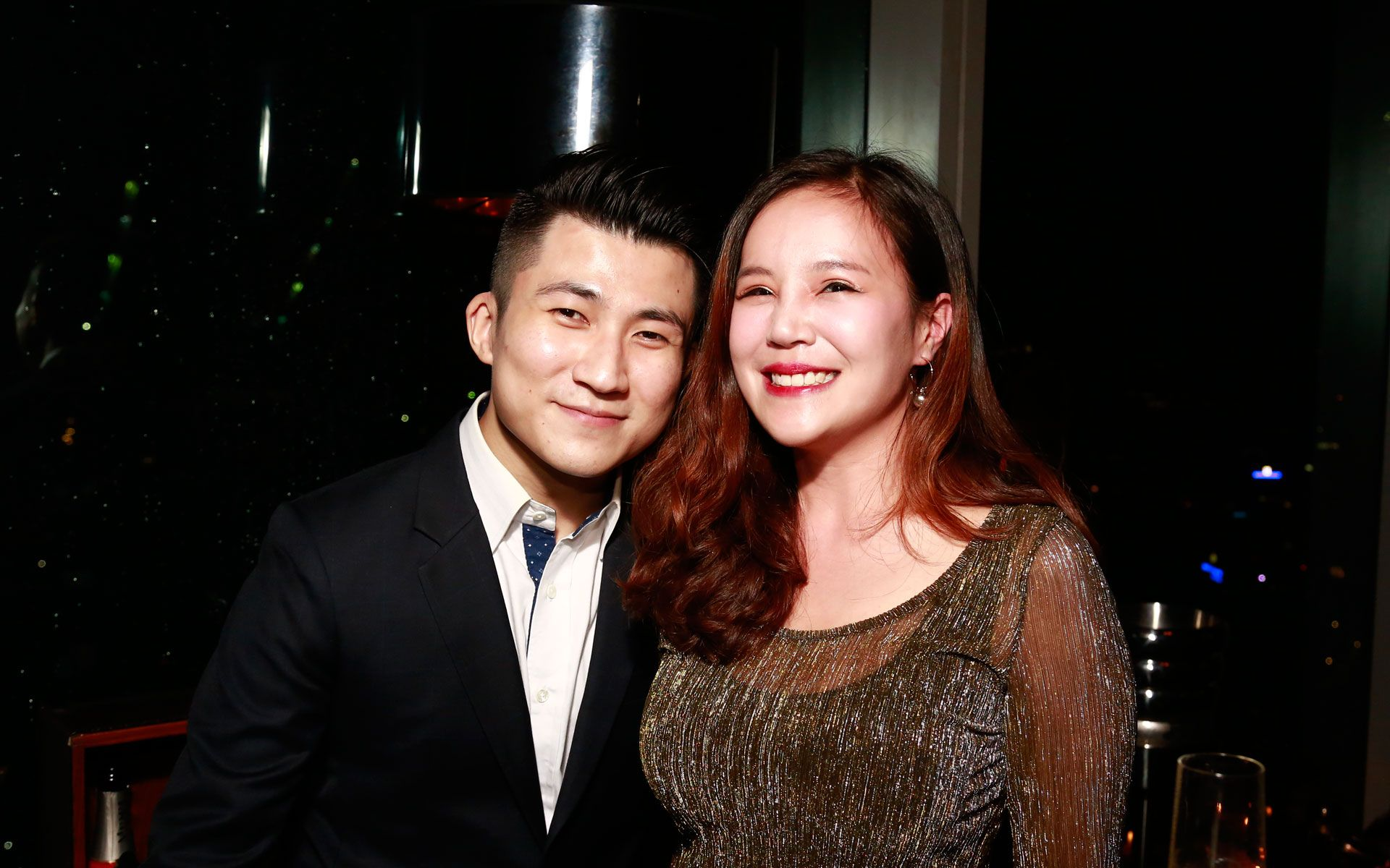 Kent Ong and Daphne Tan