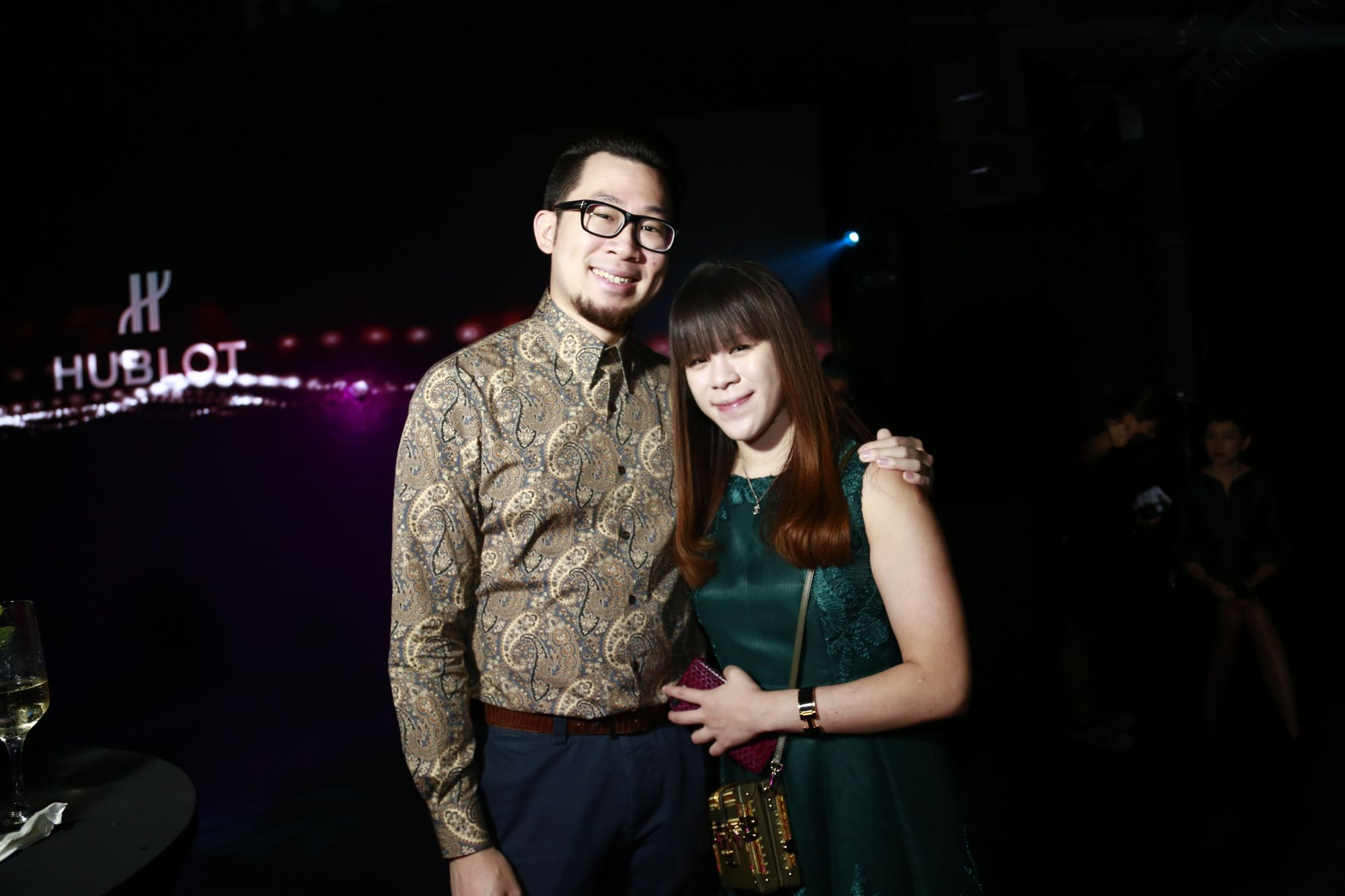 Maurice Lim and Jasmine Gong