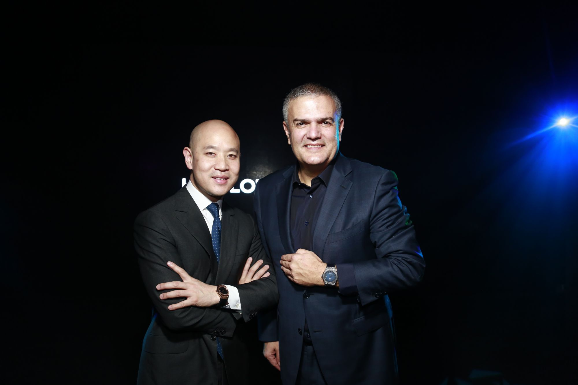 Michael Tay, Group Managing Director of The Hour Glass Limited, and Ricardo Guadalupe, CEO of Hublot