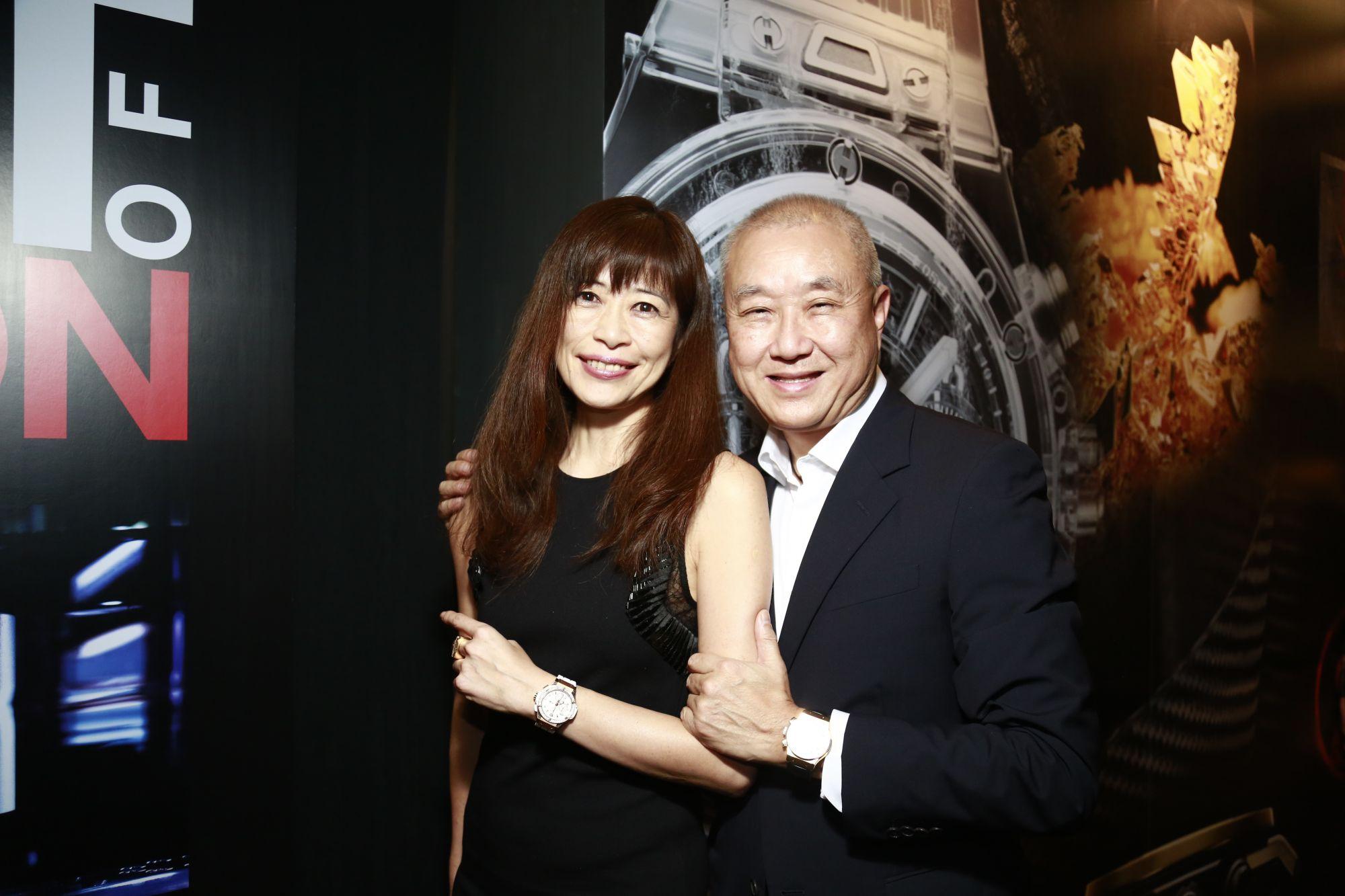Miwa Sakai and Kenny Chan