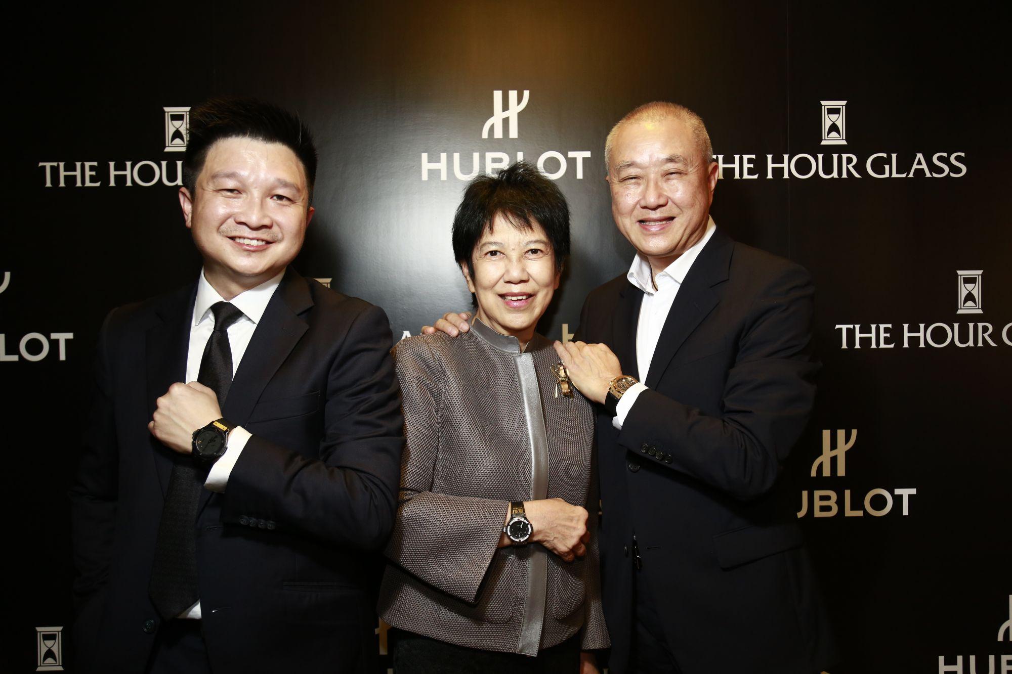 SK Teh, Chan Mo Lin and Kenny Chan