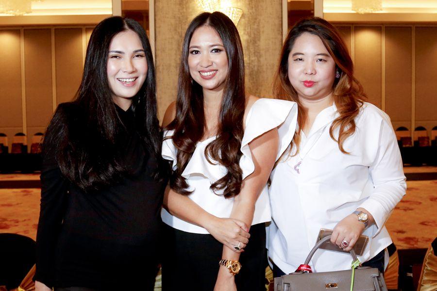 Angela Karto, Datin Yvette Kang and Yap Ai Leen