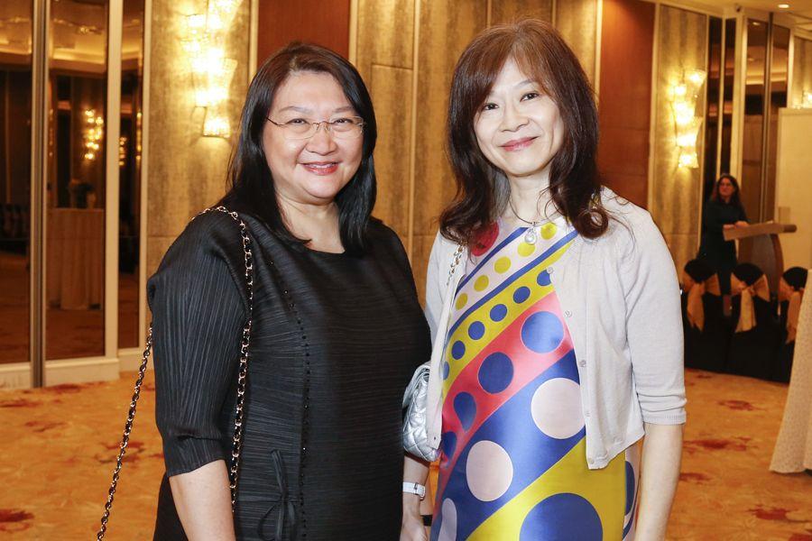 Jenny Tan and Faridah Teh