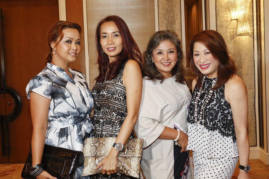 Anita Yusof, Denise Solosa Chai, Rohannie Abdullah and Adeline Khoo