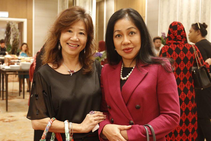 Sylvia Gan and Datin Rohaidah Shaari