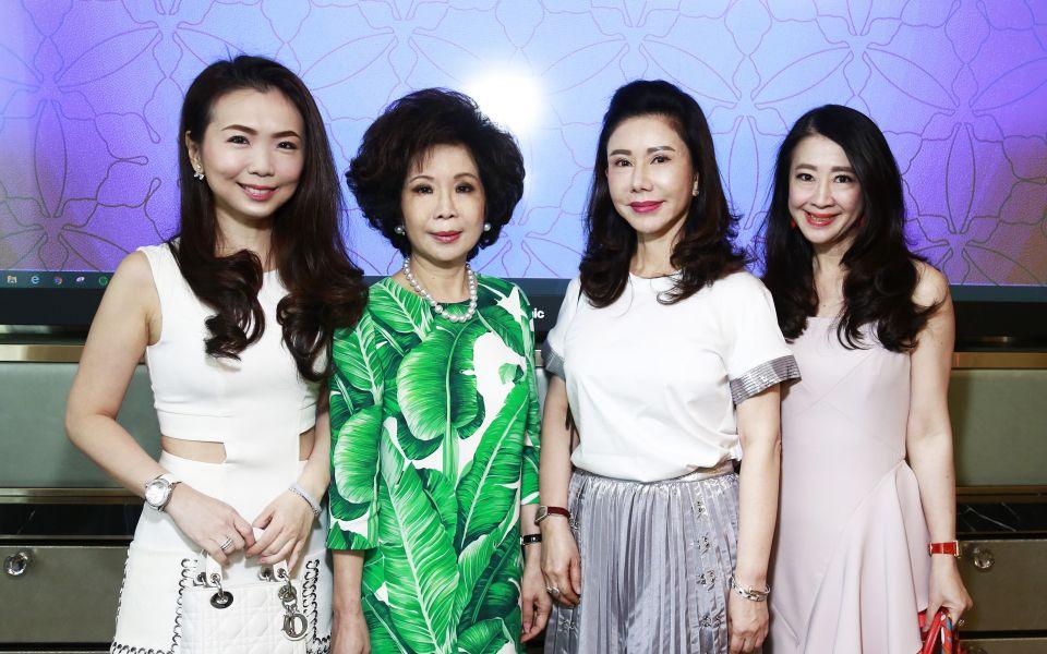 Pauline Gan, Datin Sri Barbara Yap, Dato' Jaime Chan Abdullah and Christine Chia