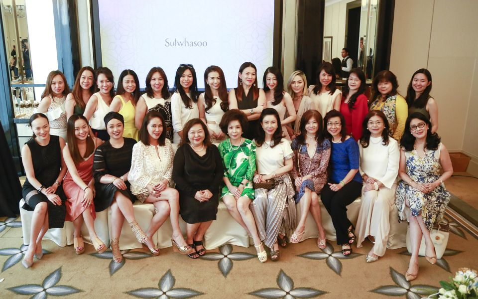 A group shot of the lovely ladies at the Sulwhasoo x Malaysia Tatler luncheon.