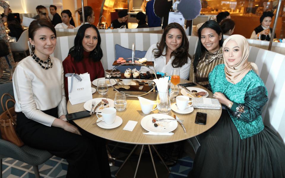Carmey Chua, Izrin Ismail, Tunku Dato' Kaiyisah Kamil Ikram, Zaida Ibrahim and Datin Vivy Yusof