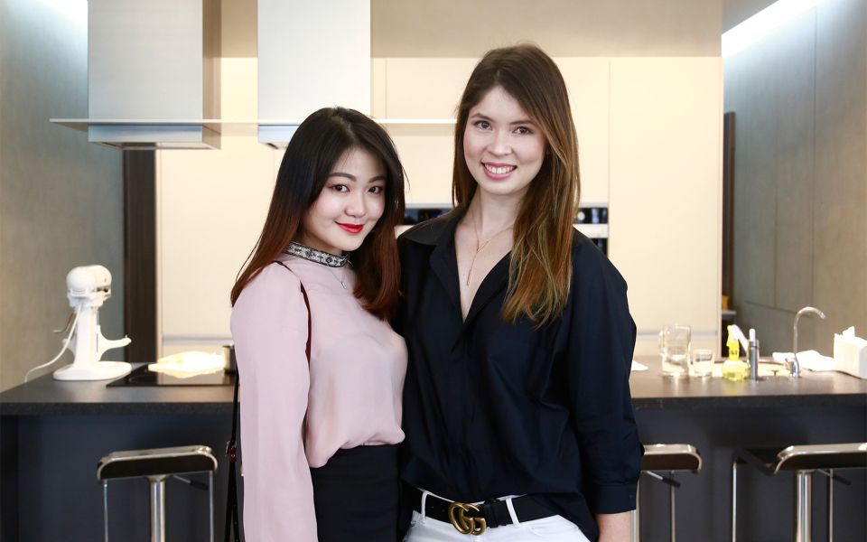Denise Chiew and Yong Mei Ling