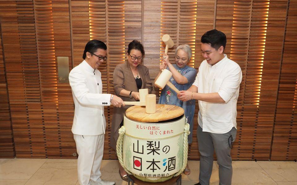 Co-founder Osmund Bernard, Dato' Joyce Yap, Puan Sri Chelsia Cheng and Tan Wooi Chye