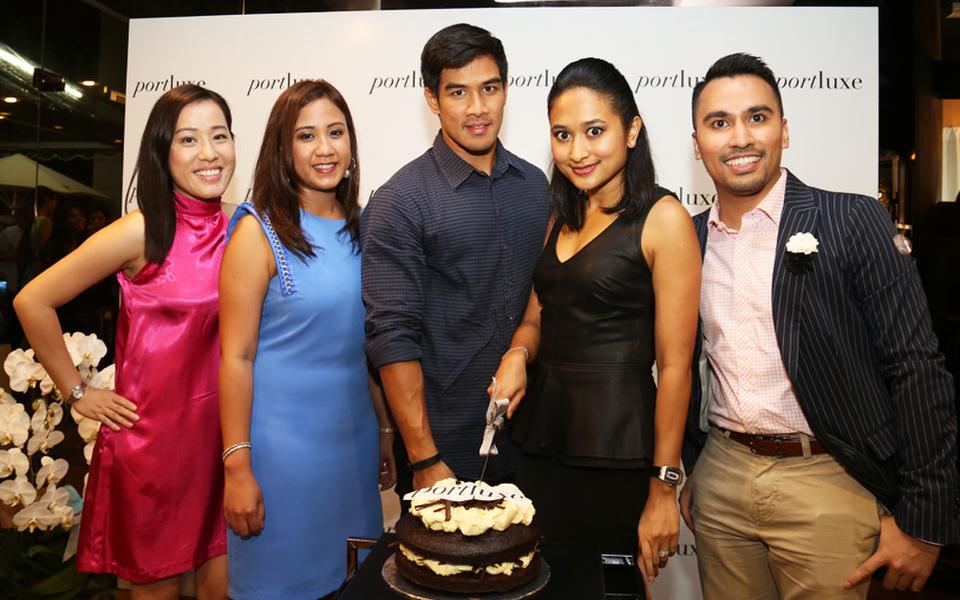 (L-R) Audrey Cheong, Jazreena Jaafar, Hamzah Alang Azman, Nur Nadia SM Nasimuddin and Refie Redzuan