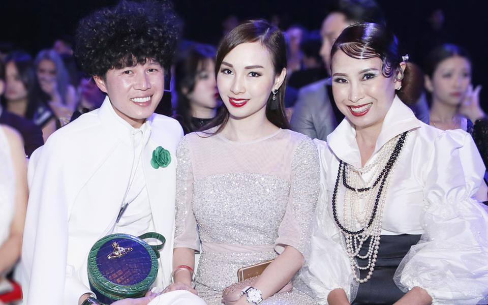 Raymond Choon, Datin Seri Linda Chen and Samantha Vong, regional general manager of Shiseido Professional Malaysia and Singapore